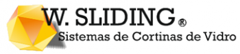 w sliding logo